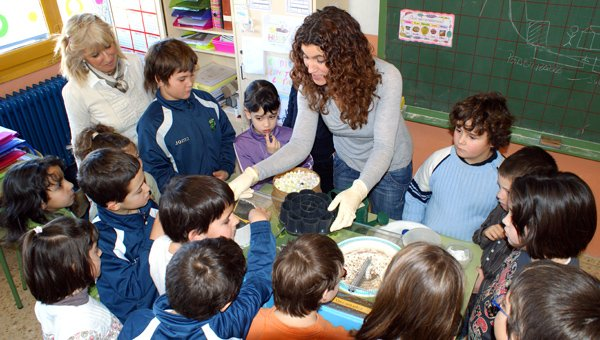 Taller de depuración en un centro educativo