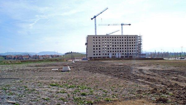 Urbanización en construcción