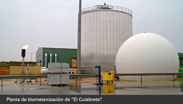 La biometanización genera gas y energía