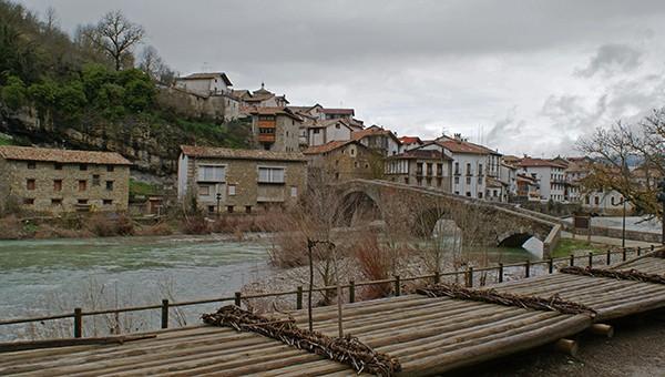 Vista parcial de la localidad