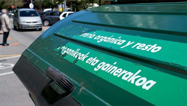Contenedor de residuos orgánicos