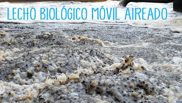 Lecho biológico móvil aireado